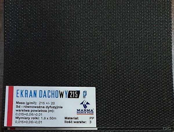EKRAN DACHOWY 215 NG 2