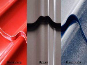 металлочерепица покрытия
