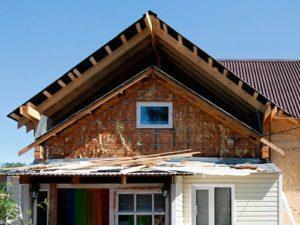 переделка крыши