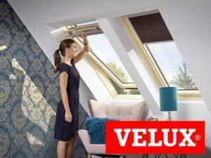 мансардное окно velux оптима
