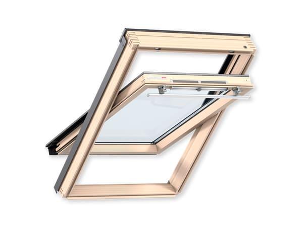мансардное окно velux оптима 3050