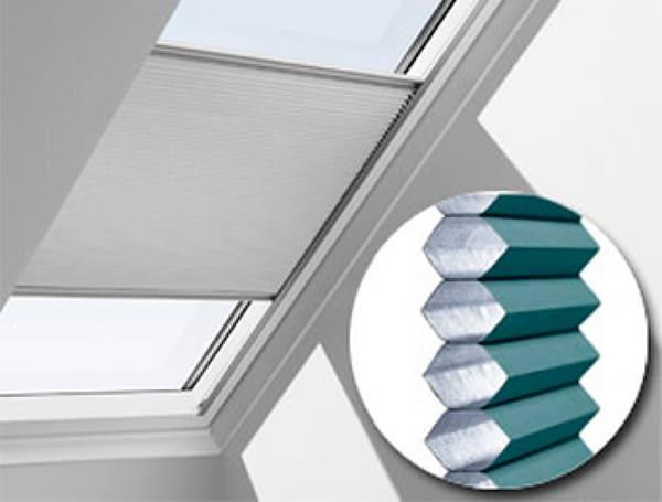 Энергосберегающие шторы-плиссе