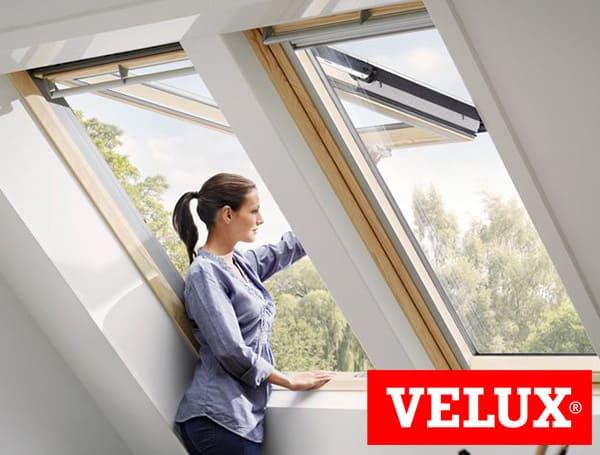 мансардное окно velux премиум