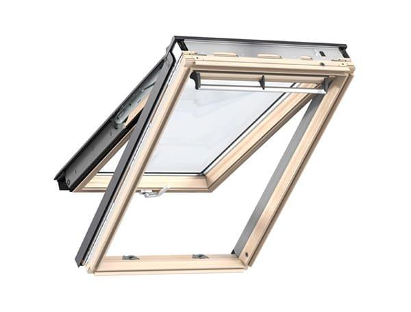мансардное окно velux премиум панарамное