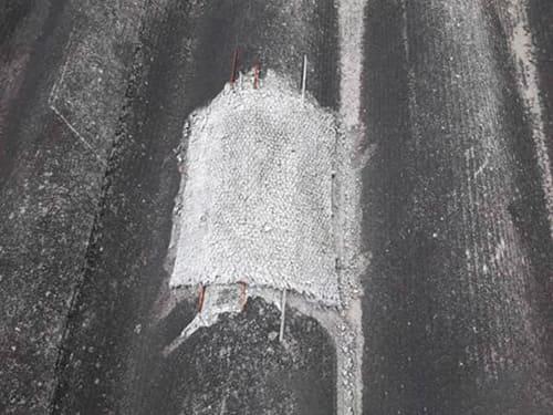 ремонт кровли из шифера