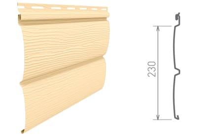 виниловый блок хаус от ю-пласт размеры
