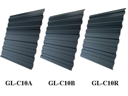 металлопрофиль (профнастил) gl-c 10 от grand line