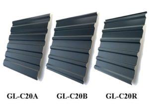 металлопрофиль (профнастил) gl-c 20 от grand line