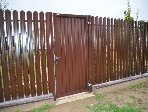 Распашные ворота и калитки Эстет Grand Line производства Grand Line