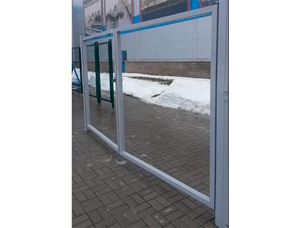 Распашные ворота и калитки Эконом Grand Line производства Grand Line