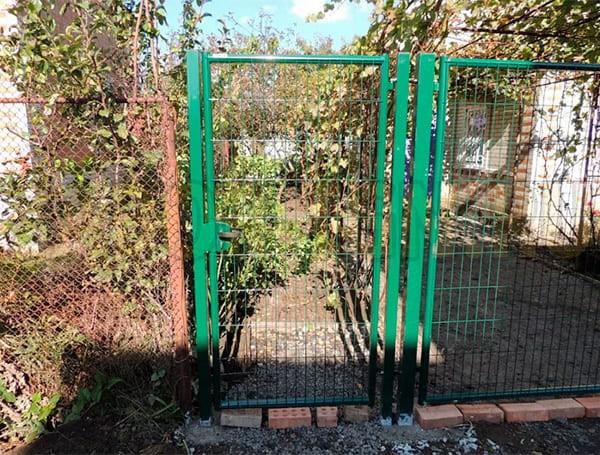 Распашные ворота и калитки Medium Grand Line производства Grand Line